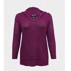 🆕 Torrid NWT Purple Lightweight Hoodie